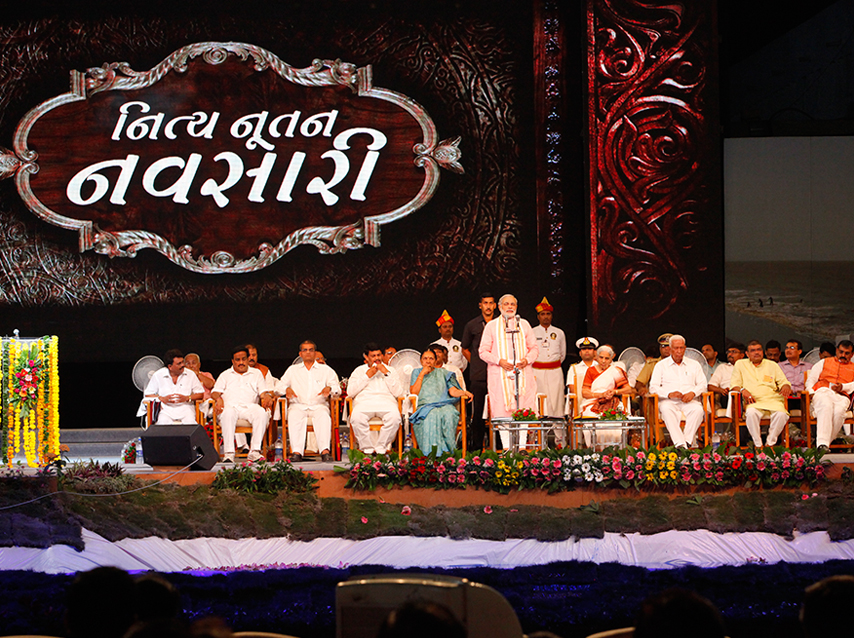 Chief Minister in Navsari on 1st May